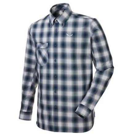 Chemise Salewa Fanes Check Blanc - La chemise Fanes à carreaux est une chemise fonctionnelle à manches longues conçu pour offrir confort et gestion de l'humidité pour la randonnée, le trekking et les voyages dans les montagnes.  - Disponible dans la Cottay Shop, le professionnel de la montagne depuis plus de 10 ans !