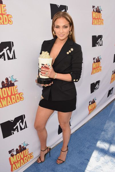 Jennifer Lopez Photos - The 2015 MTV Movie Awards - Press Room - Zimbio