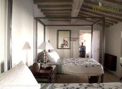 Modern Tuscan bedroom