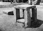"""Slave auction block, Green Hill Plantation, Campbell County, Virginia, Historic American Buildings Survey"""