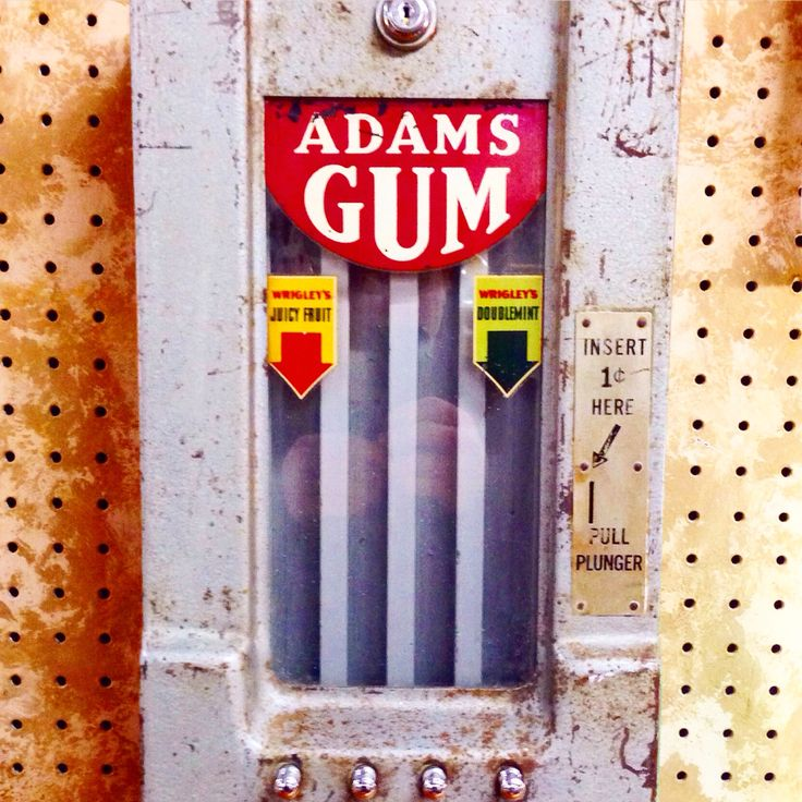 antique apple vending machine
