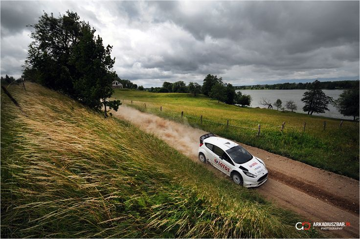 Robert Kubica / Maciek Szczepaniak test before Rally Poland 2014