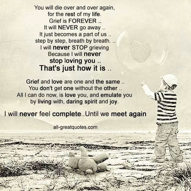 I Love You Quotes: 1165 Best Images About On Losing A Child... On Pinterest