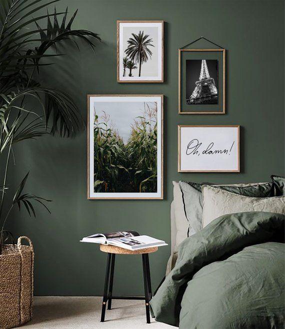 4 Digital Poster Set / Fine Art-Print / Wall-Art / Minimal Poster Art / Typography Art / Premium Poster /Scandinavian Poster/ Interior ideas