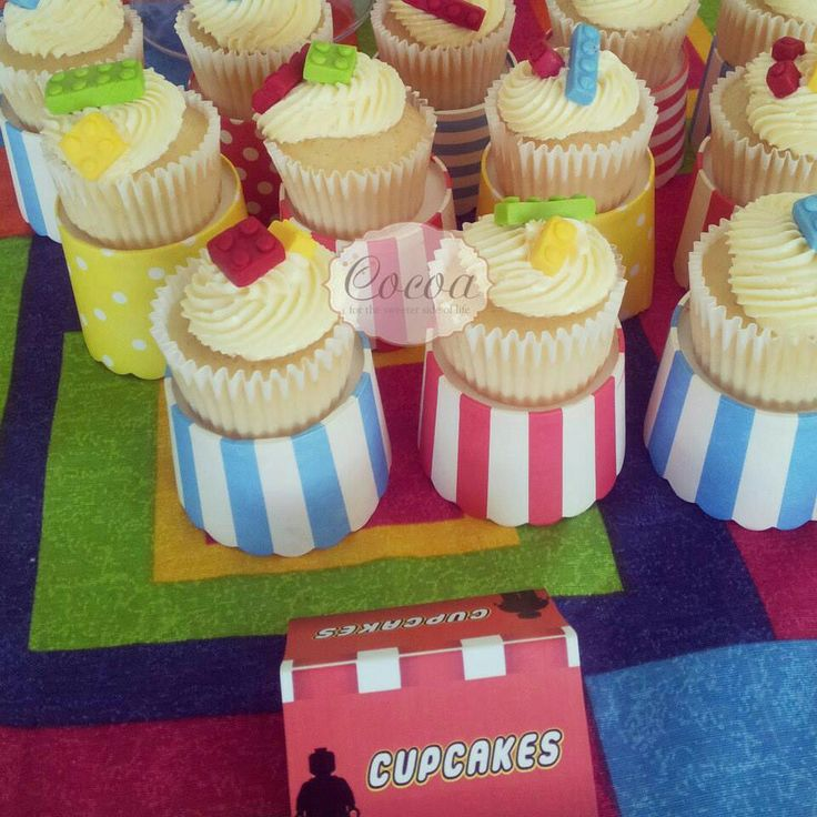 Lego party cuppies