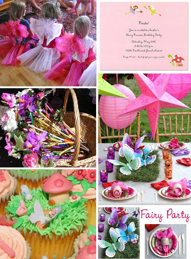 Tastefully Entertaining | Event Ideas & Inspiration: Fairy Birthday Party