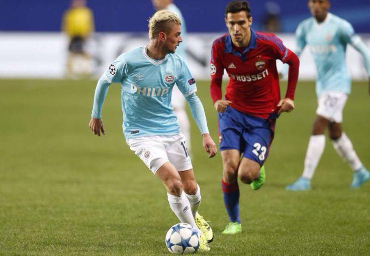 Maxime Lestienne scoorde twee maal in Moskou.