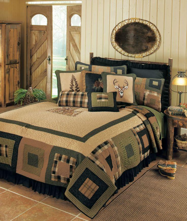Deer Blocks by Donna Sharp Quilts - BeddingSuperStore.com