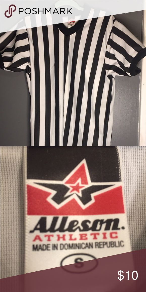 Woman's small referee shirt Worn once for Halloween. Tops Tees - Short Sleeve