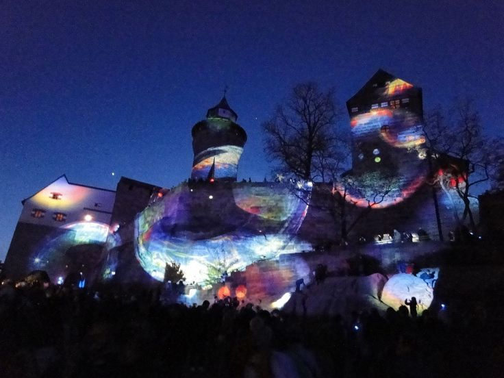 Blaue Nacht 2015 in Nürnberg