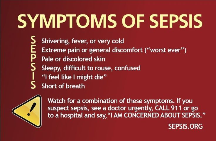 It's important to look for the warning signs of sepsis. Spotting these symptoms…