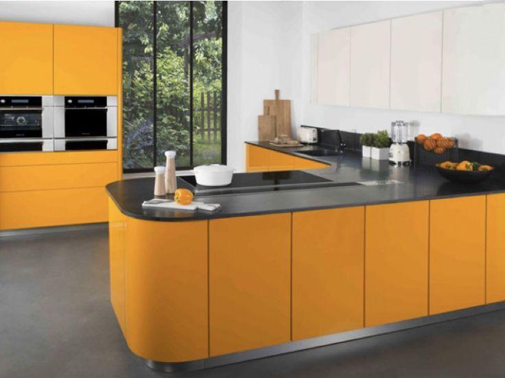 24 best cuisine en couleur images on pinterest kitchens. Black Bedroom Furniture Sets. Home Design Ideas
