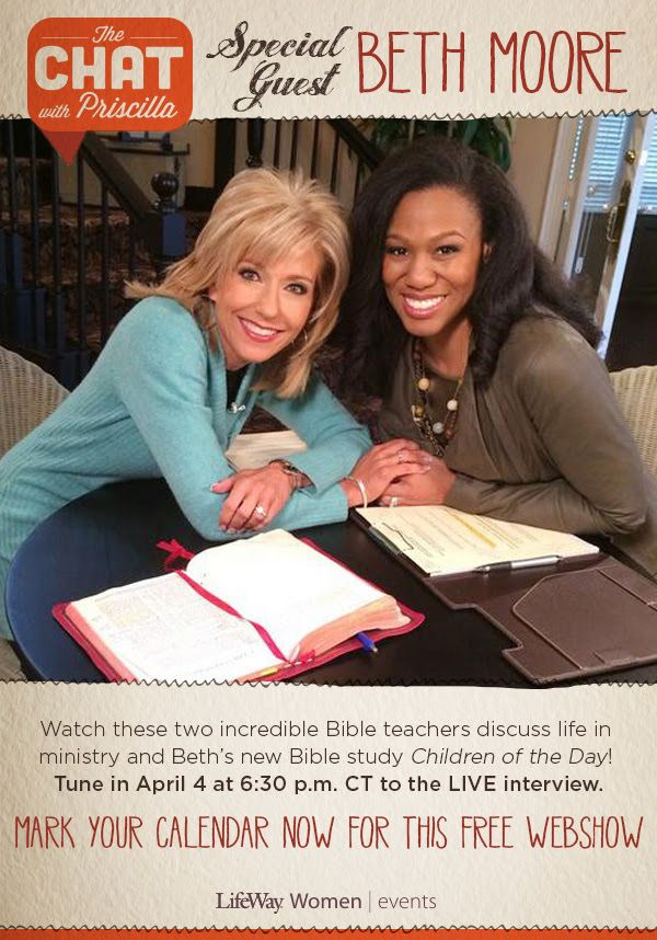 Beth Moore and Lauren Chandler Invite You To Online Bible ...