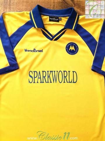 Official Vandanel Torquay United home football shirt from the 2003/04 season.