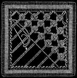 FIG. 753. THIRTY-FOURTH LACE STITCH.