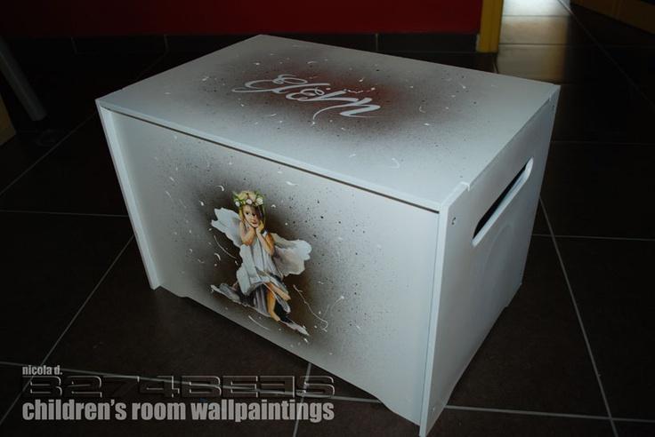Ζωγραφική βαπτιστικού κουτιού