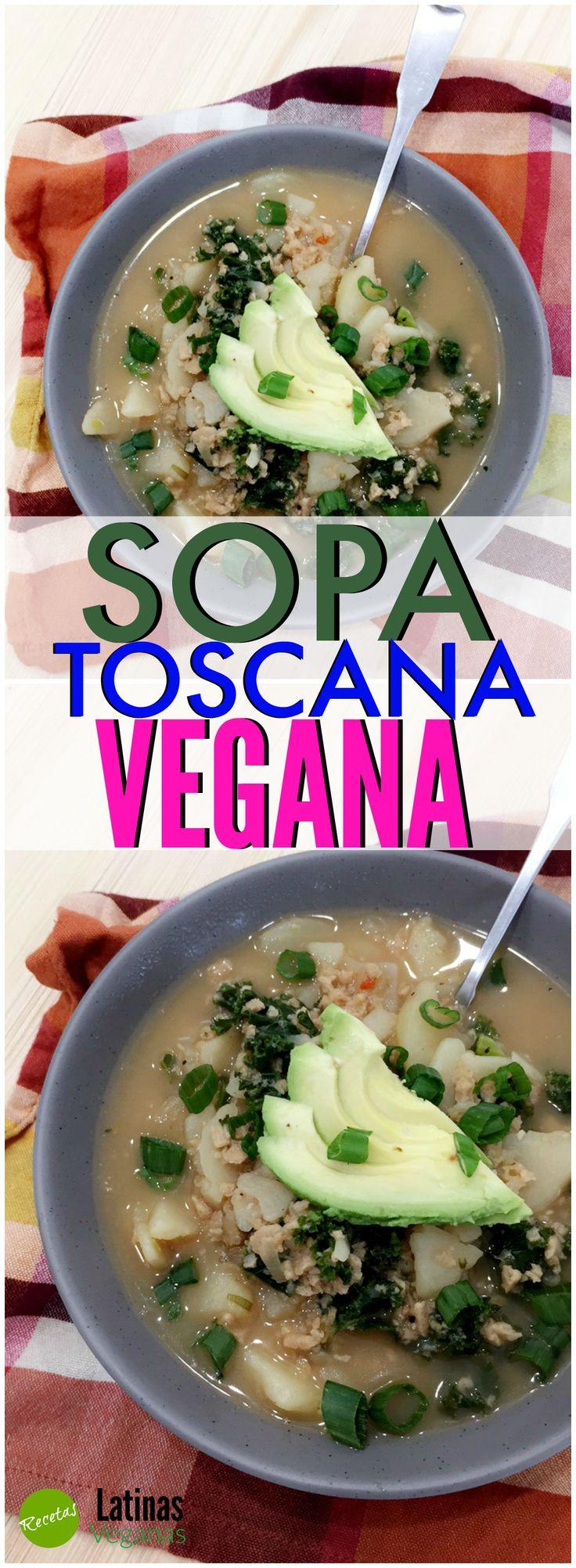 Sopa Toscana Vegana