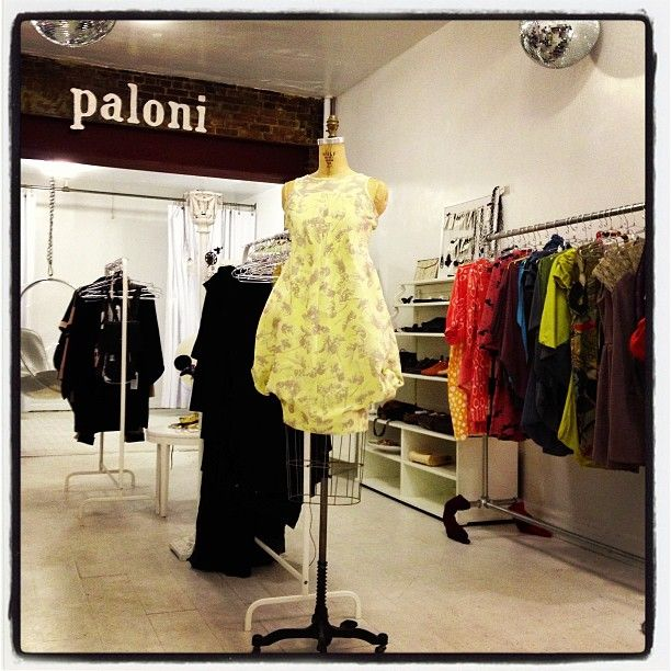 Paloni NYC pop-up shop is open! At Ivana Helsinki Soho store. @Outi Les Pyy OutsaPop Trashion