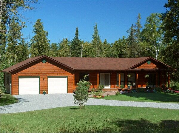 Colonial Concepts Log & Timberframe - Aspen exterior
