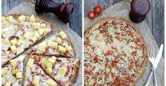 Fladenbrotpizza, Pizza, Fladenbrot, Thunfischfladenbrotpizza, Fladenbrotpizza Hawaii, Zweierlei Fladenbrotpizza, Überbacken, Kochen, Schnell, Feierabendküche