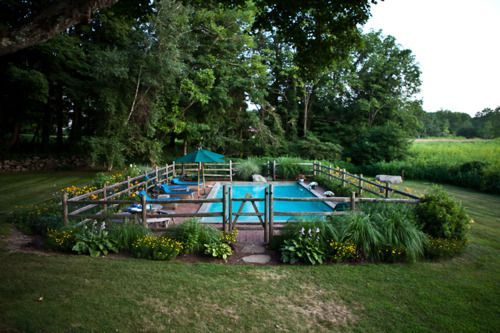 country pool.