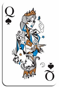 Queen Of Spades by Ozlem Olcer