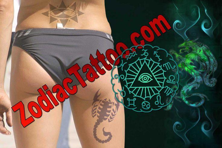 Libra Scorpio Tattoo Scorpio Zodiac Tattoo Designs