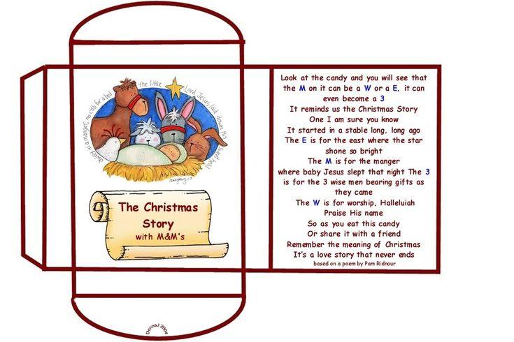 Mm Christmas Poem Printable