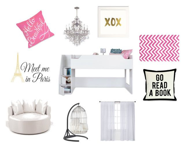 Untitled #3 by huntergirl19 on Polyvore featuring polyvore, interior, interiors, interior design, home, home decor, interior decorating, South Shore, Albertine, Mitchell Gold + Bob Williams, Nate Berkus and WallPops