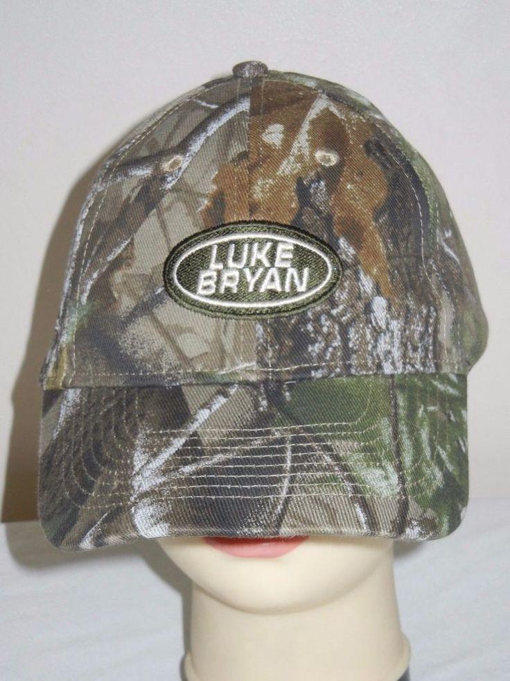 Luke Bryan REALTREE Baseball Hat OSFM camo camouflage hunting