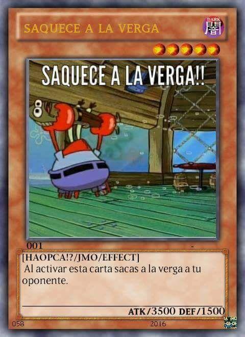Memes de yugioh cartas Memes de cartas de yu-gi-oh Pack de cartas de yugioh memes Los mejores memes de cartas de yugioh Las cartas mas fuer...