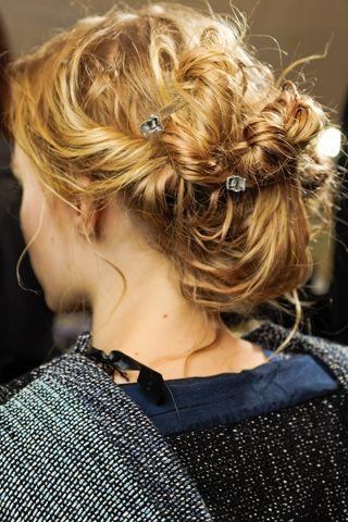 Fall runway 2012: Vintage Hairstyles, Beautiful Hairstyles, Updo Hairstyles, Hair Style, Hair Updo, Hairstyles Ideas, Fall Runway, Hairstyles Collection, Cool Updo For 2012 Jpg 320 480