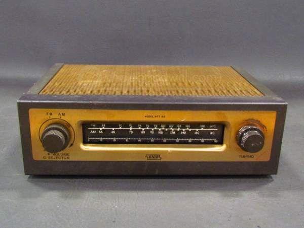 Vintage Eico HFT-92 FM/AM Mono Tube Radio Tuner