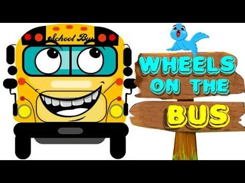 (5) Wheels On The Bus Rhymes Collection | Nursery Rhymes | Rhymes For Kids Toddlers | Cartoon Rhymes - YouTube