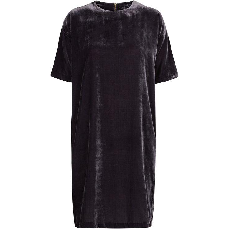 Ima velvet dress soft velvet dress black swan fashion