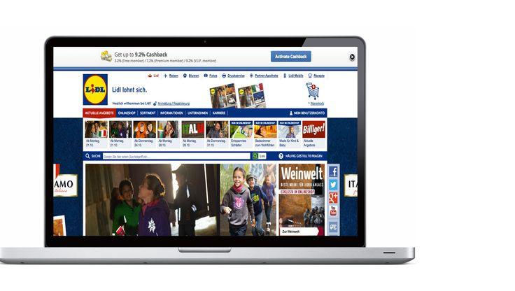 In LIDL online-shop günstiger einkaufen mit bis zu 9,2% CashBack über Partnerfirma  www.erfolg-macht-sexy.info