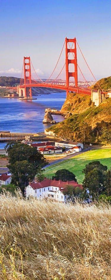 World's Snaps: The San Francisco Bay And The Golden Gate Bridge California