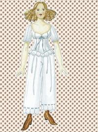 Påklædningsdukken Sofia