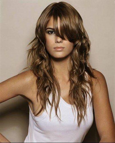 cheveux chatain fonce avec des reflets miels recherche google - Coloration Chatain Fonce