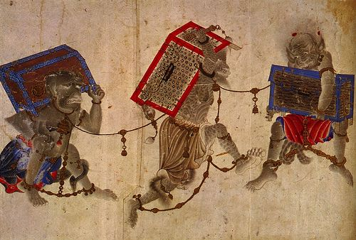 Muhammed Siyah Qalam (Muhammed of the Black Pen). 14th century. Uighur Manichaean Miniatures