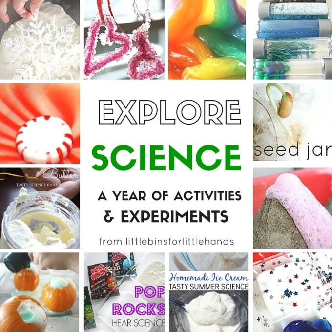 A Year of the Best Kids Science Experiments Everyone Will Love!