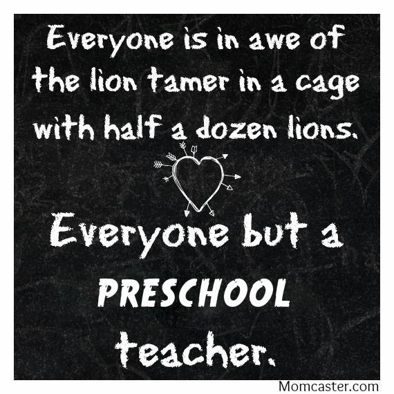 truth about being a preschool teacher
