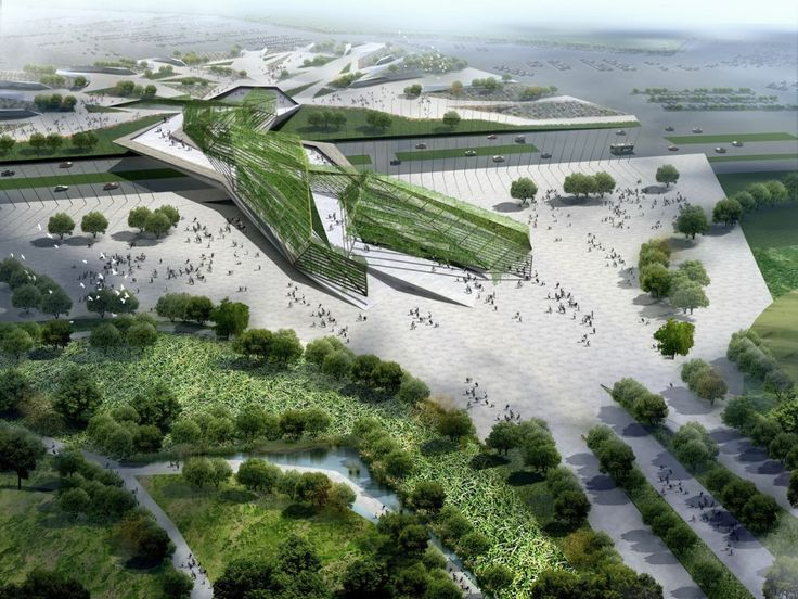 Xi'an International Horticultural Expo 2011 #landscape