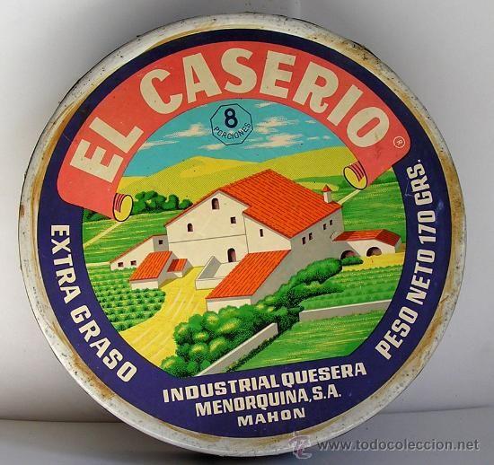 Del Caserío, me fío. Quesos con forma de triángulo.