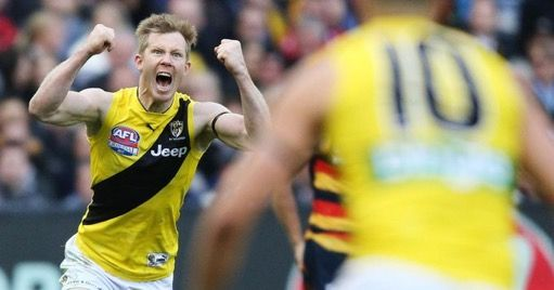 Full forward - Jack Riewoldt.