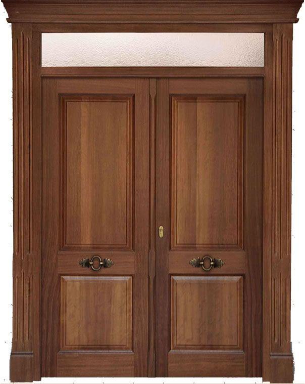 puertas de exterior de madera cuenca espaa