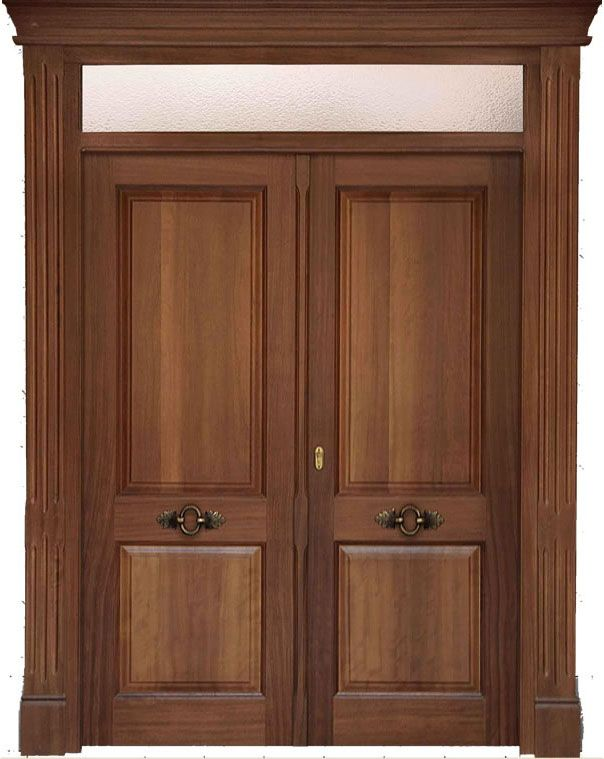 M s de 25 ideas fant sticas sobre puertas principales de for Puertas interiores de madera con vidrio