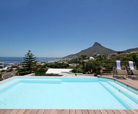 A view of Lions Head from Vivid, Camps Bay