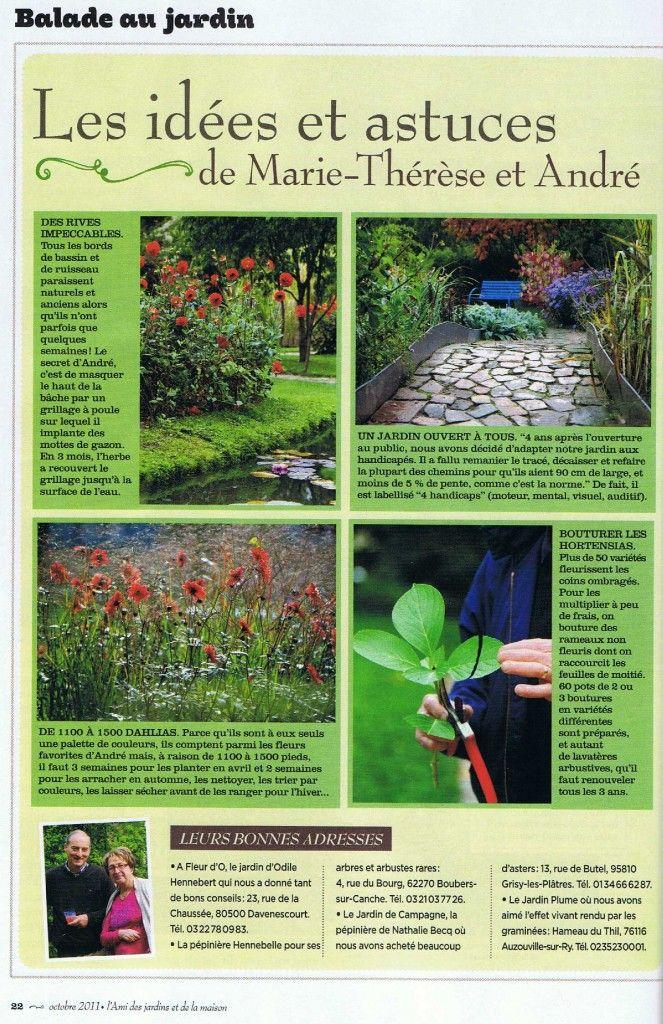 l'ami des jardins et de la maison-octobre 2011-numero 1011