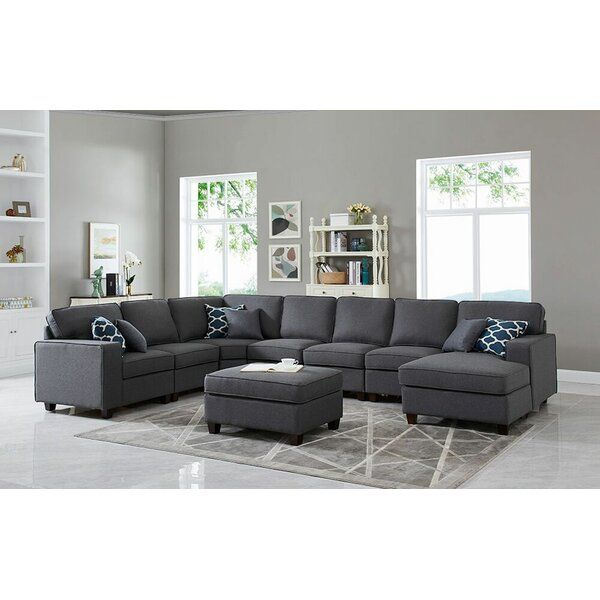 You Ll Love The Spradling Right Hand Facing Modular Sectional With Ottoman At Wayfair Great Dea Modular Sectional Sofa Modular Sectional Sectional Sofa Couch,Small Living Room Furniture Arrangement Ideas